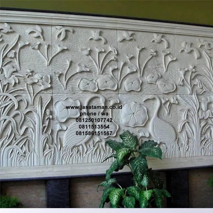 Taman relief dekorasi surabaya jawa timur VII:  Garden  by TUKANG TAMAN SURABAYA - jasataman.co.id