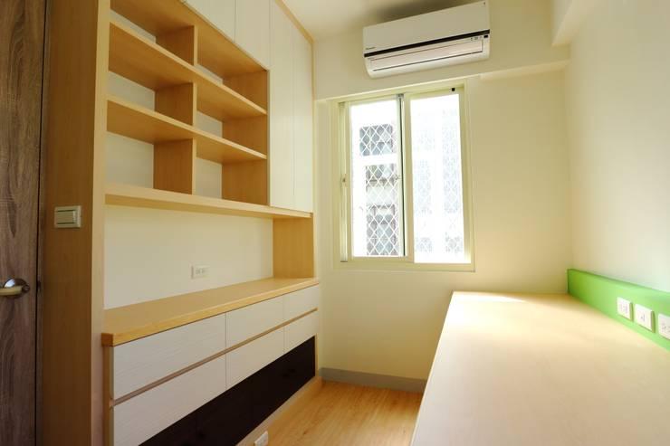 Study/office by 青築制作, Scandinavian