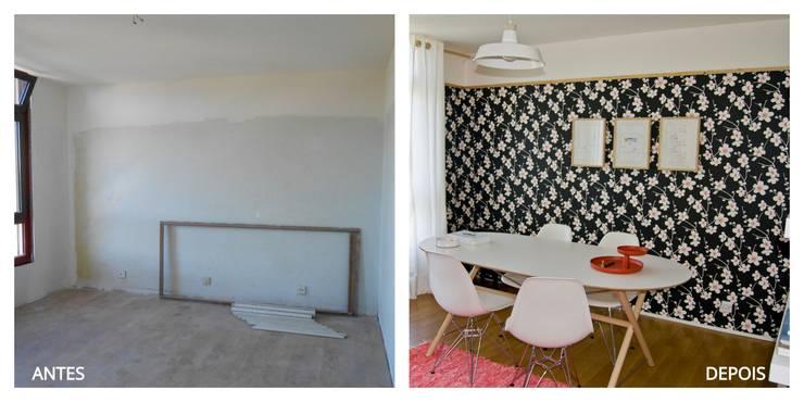 Antes & Depois:   por Tangerinas e Pêssegos - Design de Interiores & Decoração no Porto