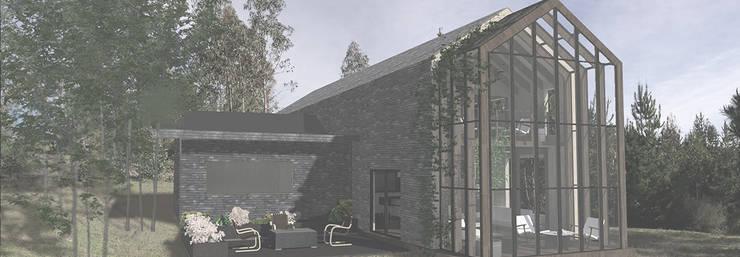 Vivienda Puertecillo 2: Casas ecológicas de estilo  por Pasiva