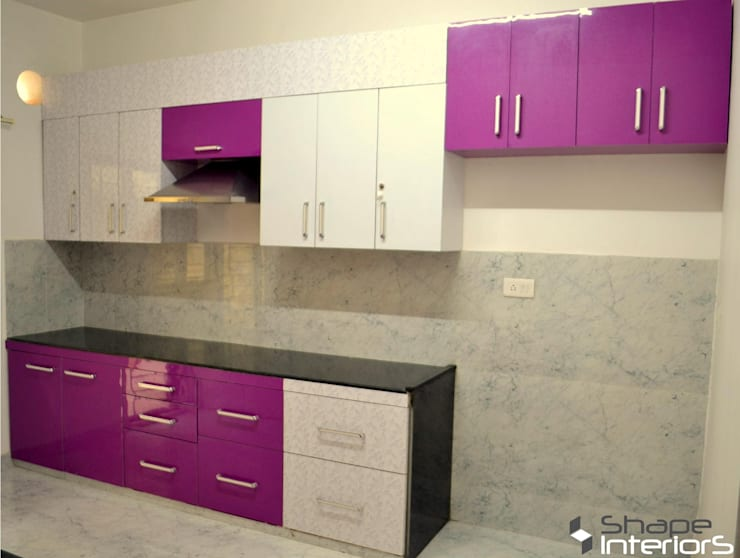 Kitchen units by Shape Interiors