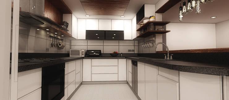 Cocinas integrales de estilo  por Plano 13