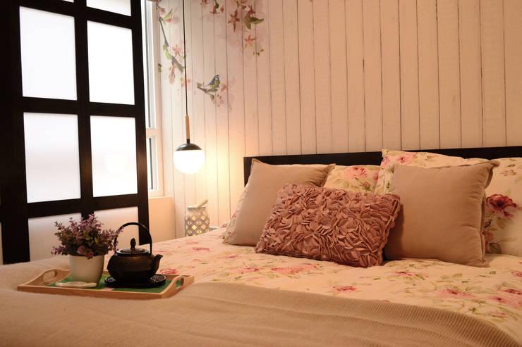Estilo Japones en Santiago : Dormitorios de estilo  por Kaa Interior