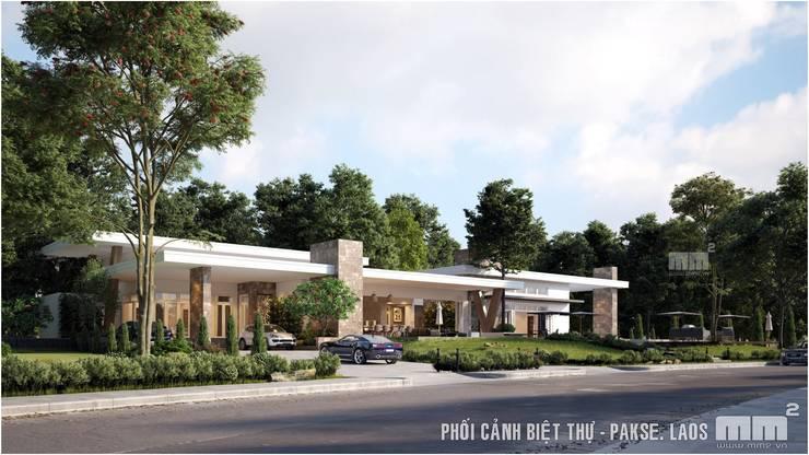 Thiết kế thi công biệt thự Pakse - Lào:   by Công ty Cổ Phần Milimet Vuông
