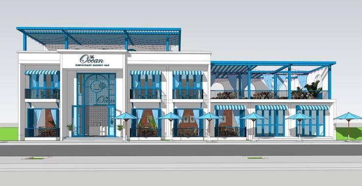 Thiết kế nhà hàng Ocean :   by Công ty Cổ Phần Milimet Vuông