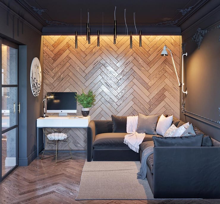 Living room by IN MY BOX | дизайн интерьера | Екатеринбург