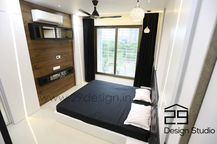 modern Bedroom by 29Design Studio