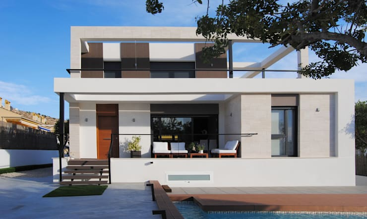 Casas unifamiliares de estilo  por Loft 26