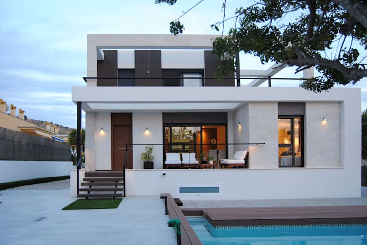 Casas de estilo  por Loft 26