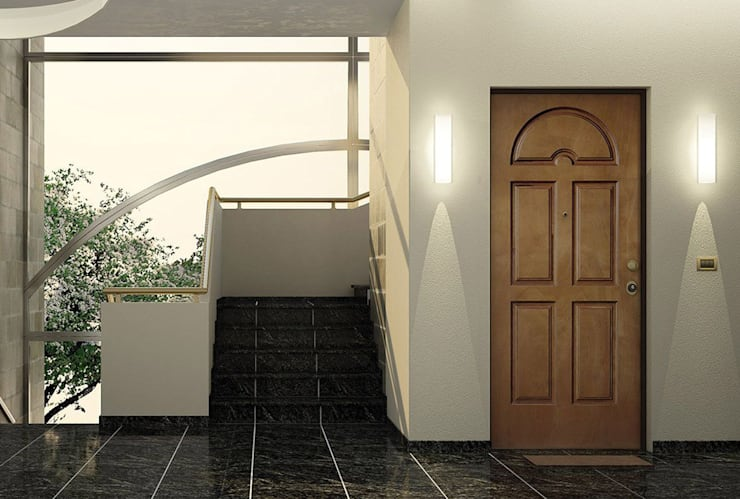 ALBA門窗意大利進口滑軌門,現代簡約品質:  健身房 by 北京恒邦信大国际贸易有限公司