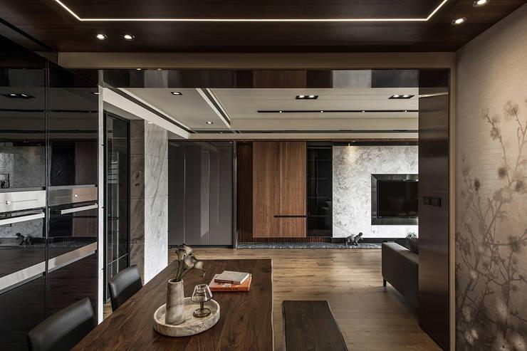 竹北-耶林MIDO:  餐廳 by 齊家。空間設計,