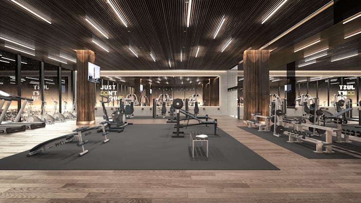 Gym by Rapzzodia Interiorismo
