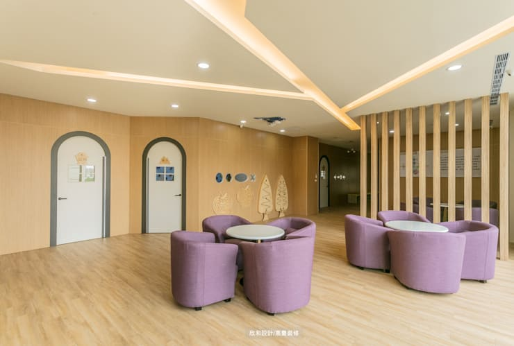 【童‧真】:  學校 by 欣和室內規劃設計有限公司