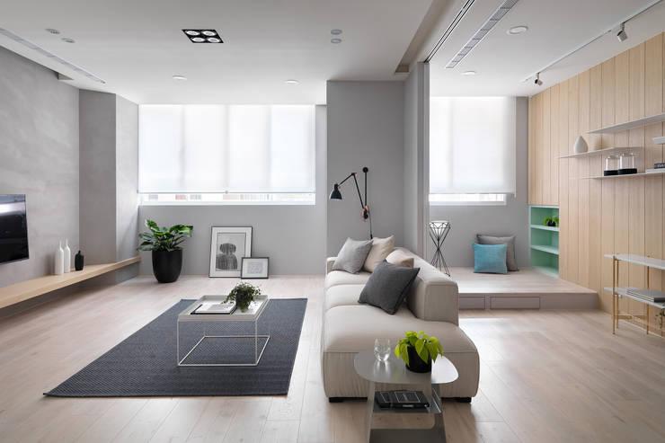 Gary Star:  客廳 by 寓子設計