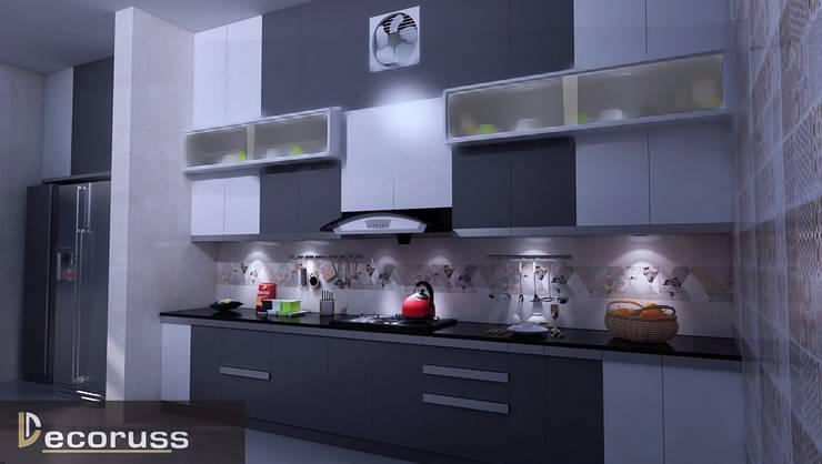Modular Kitchen: modern  by decoruss Interior designer and decorator,Modern Plywood