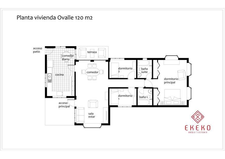 de estilo  por Ekeko arquitectura  - Coquimbo
