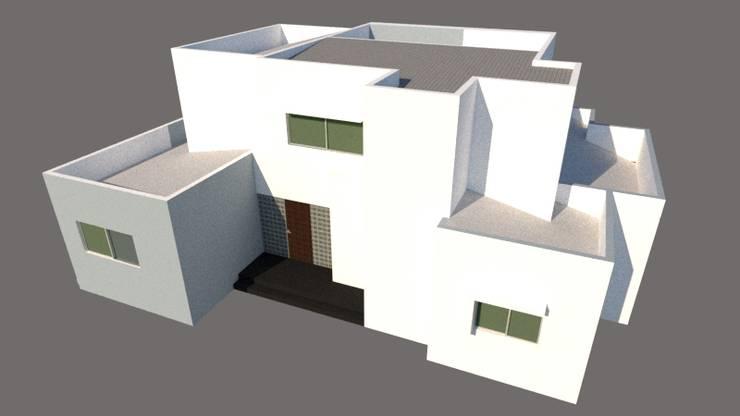 ARQUITECTO: Casas prefabricadas de estilo  por Hector Arquitecto