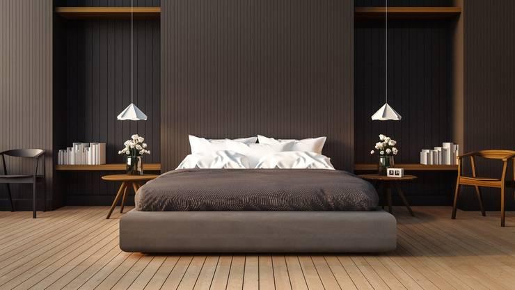 Master Bedroom:  Bedroom by Rebel Designs,Modern
