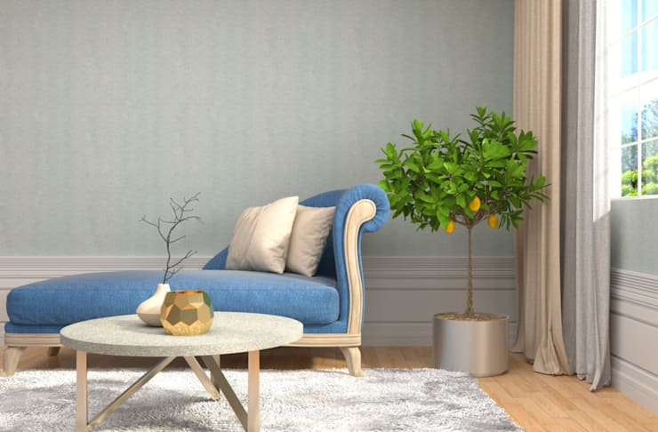 An eclectic design of furniture and home décor accessory pieces:  Living room by Rebel Designs,Eclectic