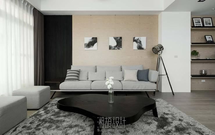 和風感十足的客廳風格:  客廳 by 湘頡設計