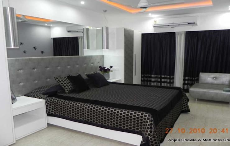 Modern Bedroom Design Ideas: modern Bedroom by Chawla N Associates