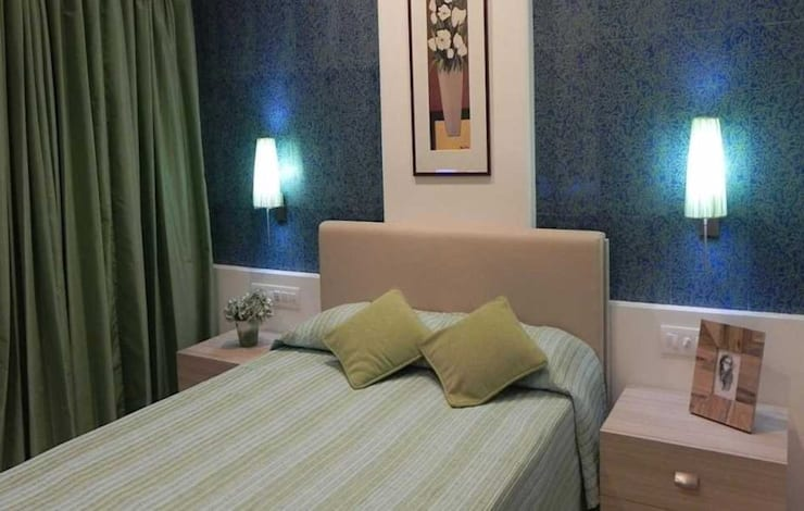 Bedroom colour schemes: modern Bedroom by Chawla N Associates