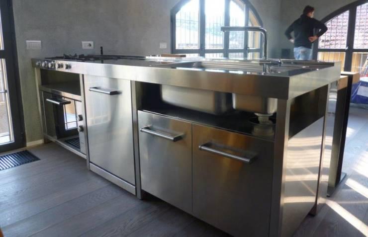 SteellArt : C90 Cucina Freestanding | homify