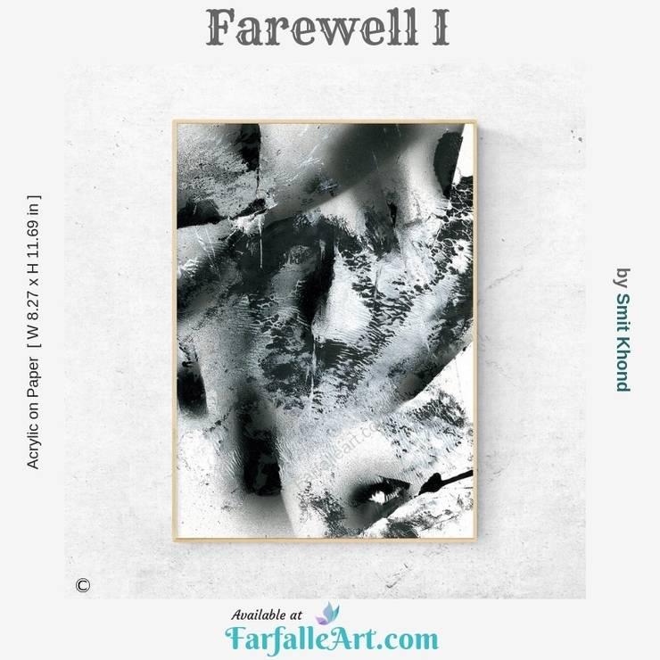 Farewell I: modern  by FarfalleArt.com,Modern Paper