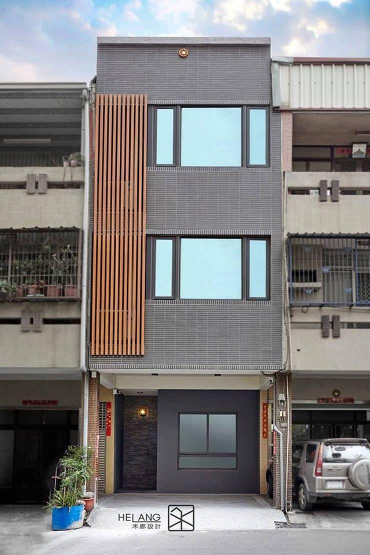 外觀拉皮:  獨棟房 by 禾廊室內設計
