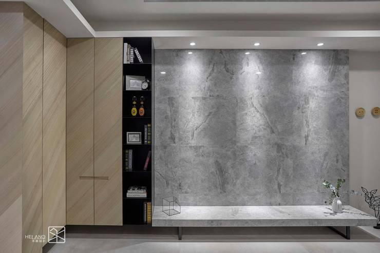 材質的連結:  客廳 by 禾廊室內設計