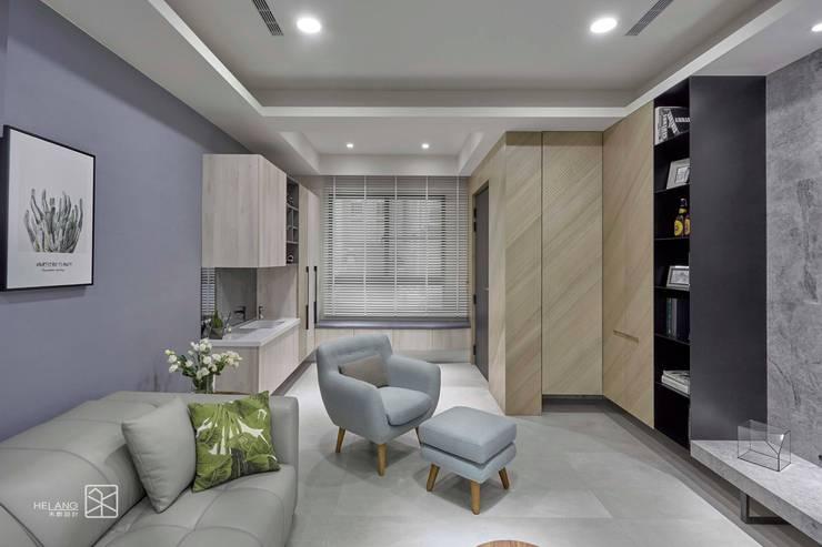 臥榻:  走廊 & 玄關 by 禾廊室內設計