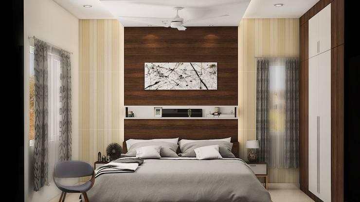 Bedroom Design Ideas:  Bedroom by Modulart