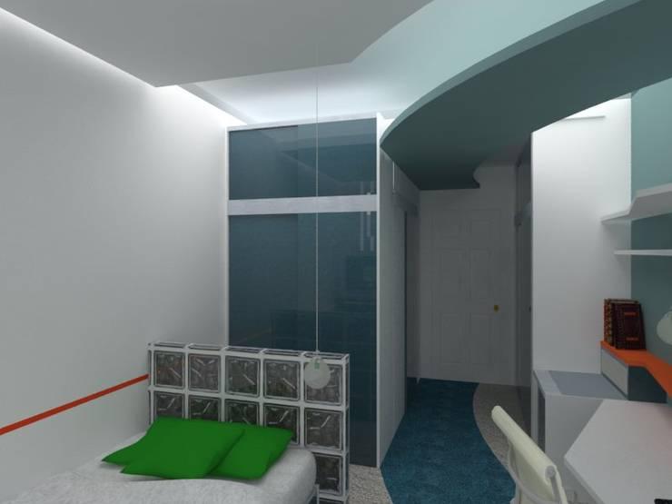 Asesoramiento para remodelar un dormitorio: Dormitorios de estilo  por Goch Interior Design,