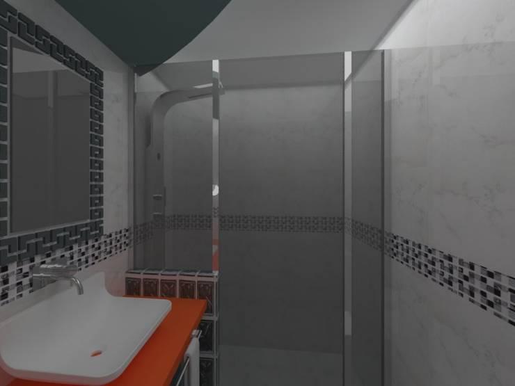 Asesoramiento para remodelación de cuarto de baño: Baños de estilo  por Goch Interior Design,
