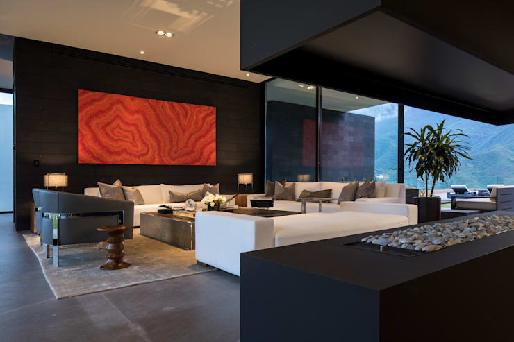Living room by GLR Arquitectos