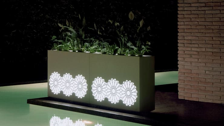 Backlit Planters:  Garden  by Atria Designs Inc.