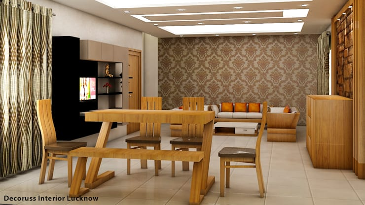 Dinning room: classic  by decoruss Interior designer and decorator,Classic Plywood