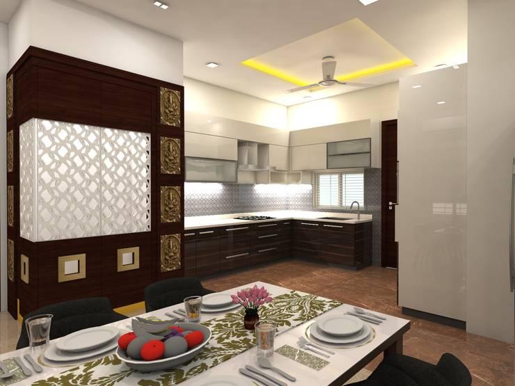 project vijayawada:  Kitchen units by shree lalitha consultants