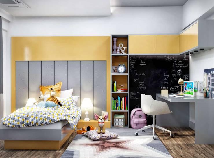 VERO CONCEPT MİMARLIK – Nest of Söke Konutları:  tarz Çocuk Odası
