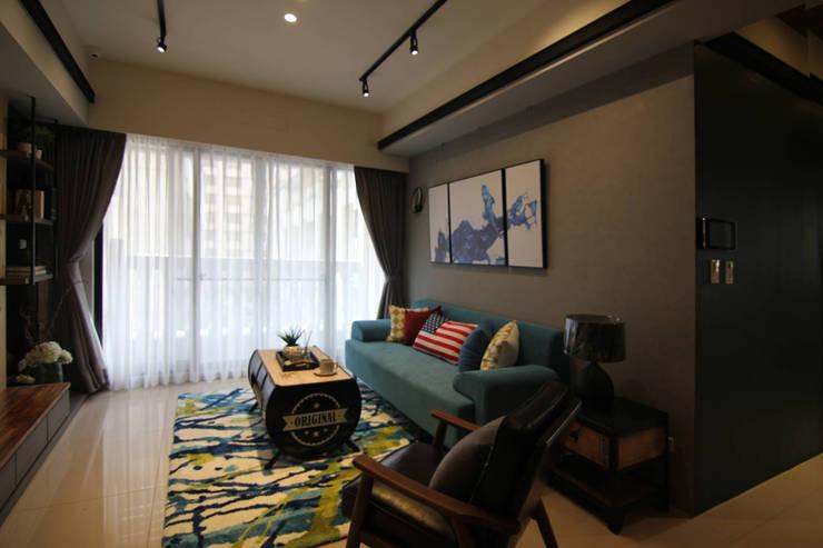 ForHome 輕美式風格的居家空間家具家飾配置:  室內景觀 by ForHome