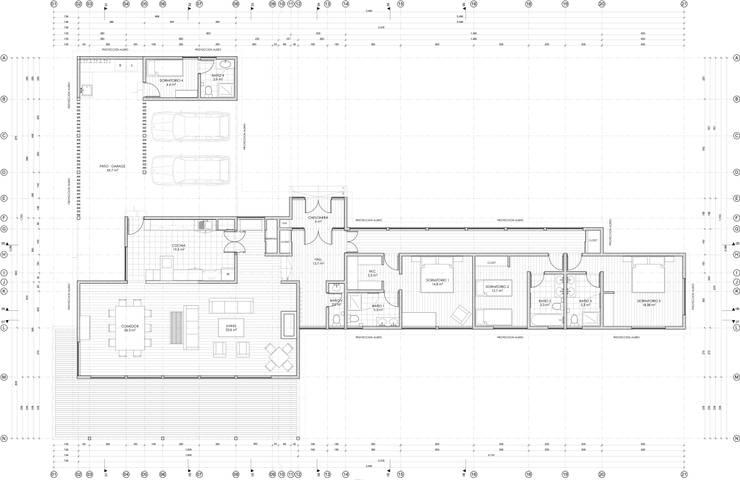 Planta Arquitectura:  de estilo  por RENOarq