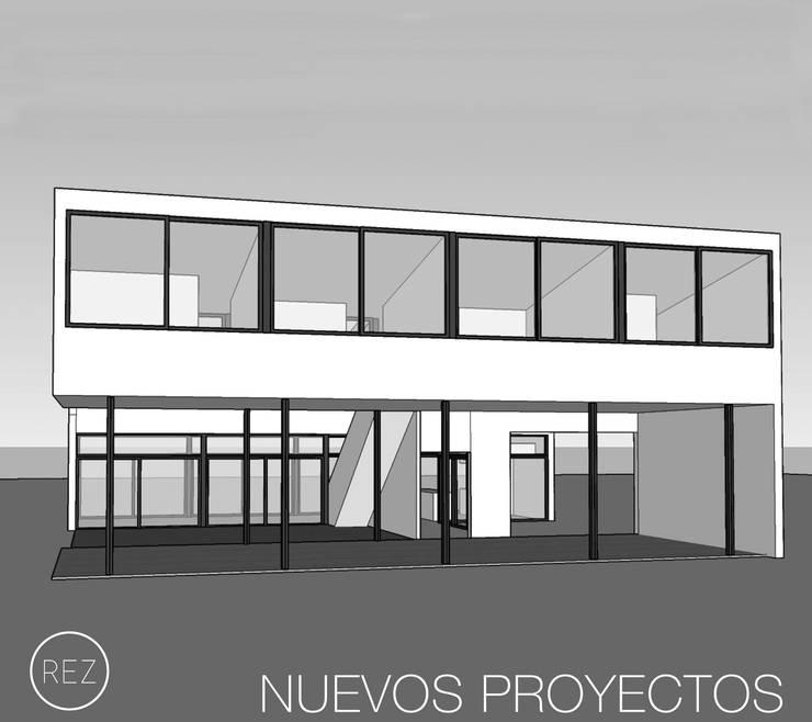 CASA-BAB:  de estilo  por REZ  Arquitectura | Diseño | Housing