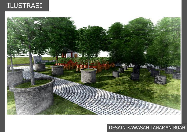 DESAIN KAWASAN TANAMAN BUAH:  Garden  by Bengkel Tanaman