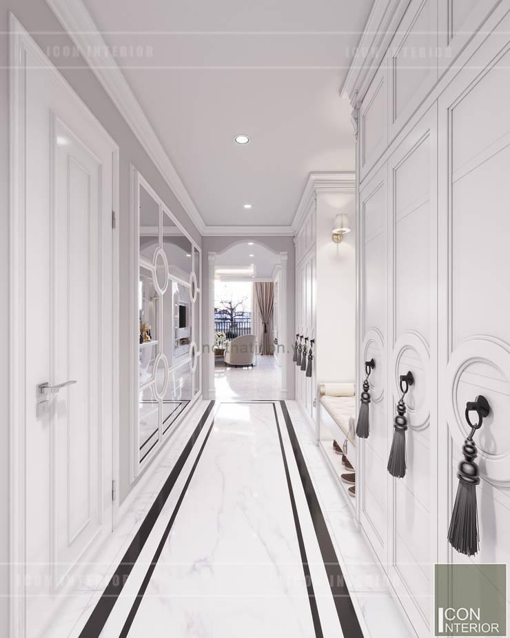 Thiết kế căn hộ Landmark 2 Vinhomes Central Park – Phong cách Tân Cổ Điển:  Cửa ra vào by ICON INTERIOR