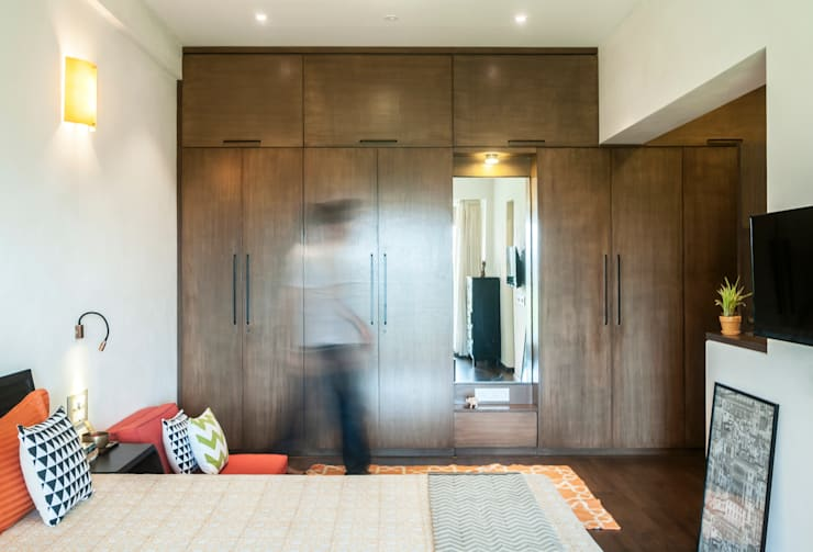 modern Bedroom by Decode Architecture