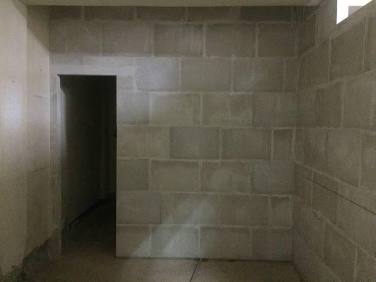 石磚牆完整一體:   by 寶瓏室內裝修有限公司