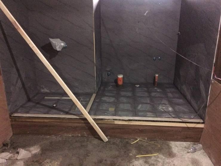 浴廁綠能防潮石磚膏牆面貼磁磚施工過程:   by 寶瓏室內裝修有限公司
