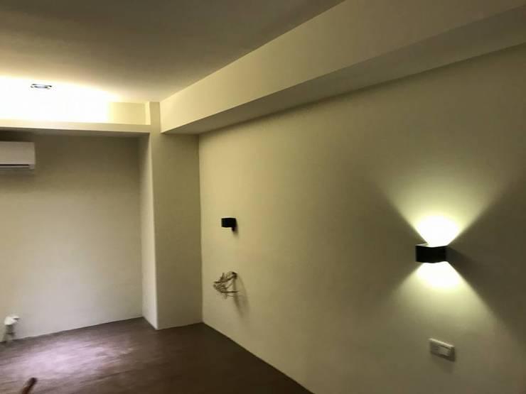 粉刷完工後的石磚牆面:   by 寶瓏室內裝修有限公司