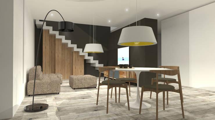   ESTAR COMEDOR: Comedores de estilo  por modulo cinco arquitectura