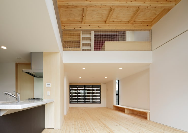 Dining room by 一級建築士事務所 アリアナ建築設計事務所, Modern Ceramic